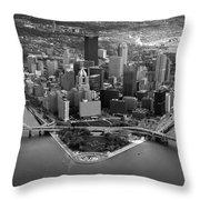 Pittsburgh 8 Throw Pillow by Emmanuel Panagiotakis