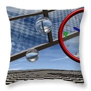 Play Time Throw Pillow by Richard Rizzo