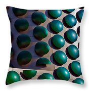 Polka Dots Throw Pillow by Christopher Holmes