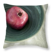 Pomegranate Throw Pillow by Priska Wettstein