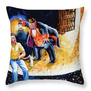 Pooka Hill 7 Throw Pillow by Hanne Lore Koehler