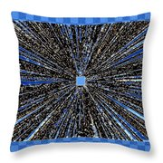 Positive Energy Throw Pillow by Will Borden