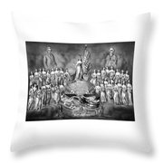 Presidents Washington And Jackson Throw Pillow by War Is Hell Store