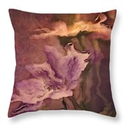 Pretty Bouquet - a04ct3 Throw Pillow by Variance Collections