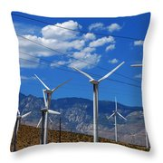 Prevailing Throw Pillow by Skip Hunt