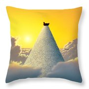 Productivity Throw Pillow by Jerry LoFaro