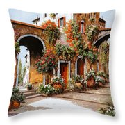 Profumi Di Paese Throw Pillow by Guido Borelli