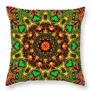 Psych Throw Pillow by Robert Orinski