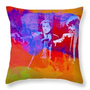 Pulp Fiction 2 Throw Pillow by Naxart Studio