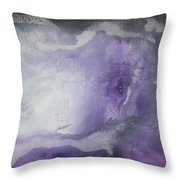 Purple Explosion By Madart Throw Pillow by Megan Duncanson