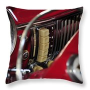 Push Buttons Throw Pillow by David Lee Thompson