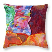 Puzzle Throw Pillow by Ralph White