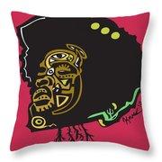 Questlove  Throw Pillow by Kamoni Khem