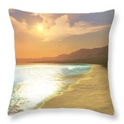 Quiet Places Throw Pillow by Corey Ford