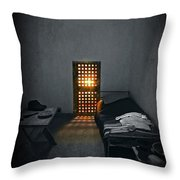 Rays Of Freedom Throw Pillow by Evelina Kremsdorf