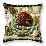 Raza Throw Pillow by Roberto Valdes Sanchez
