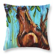 Reach For It Throw Pillow by Jonelle T McCoy