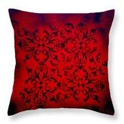 Red Velvet By Madart Throw Pillow by Megan Duncanson