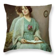 Reflections Throw Pillow by Ethel Porter Bailey