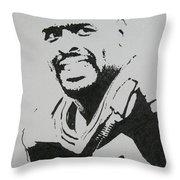 Reggie Throw Pillow by Lynet McDonald