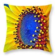 Rejoice Throw Pillow by Gwyn Newcombe