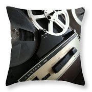 Remember When Throw Pillow by Gabe Arroyo