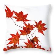 Remembering Yoshino Throw Pillow by Sophie De Roumanie