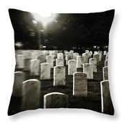 Resting Place Throw Pillow by Scott Pellegrin