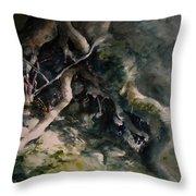 Revealed Throw Pillow by Rachel Christine Nowicki