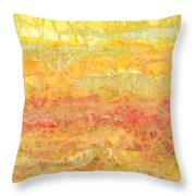 Rhapsody Of Colors 30 Throw Pillow by Elisabeth Witte - Printscapes