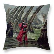 Richelieu Throw Pillow by Henri-Paul Motte