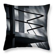 Rietveld Schroderhuis Throw Pillow by Dave Bowman