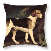Ringwood Throw Pillow by George Stubbs
