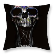 R.i.p Throw Pillow by Pete Tapang