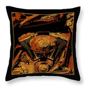 Road King Throw Pillow by Gary Grayson