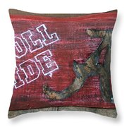 Roll Tide - Large Throw Pillow by Racquel Morgan
