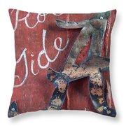 Roll Tide Throw Pillow by Racquel Morgan