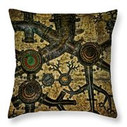 Roots Throw Pillow by Heather Applegate