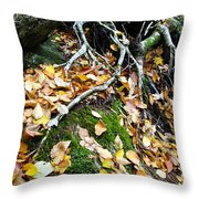 Roots Rock Reggae Throw Pillow by Thomas R Fletcher