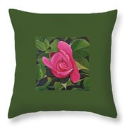 Rose Arcana Throw Pillow by Hunter Jay