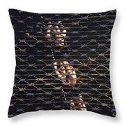 Rowing Through The Grate Throw Pillow by David Lee Thompson