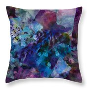 Ruby Red Throw Pillow by Don  Wright