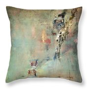 Runaway Abstract Throw Pillow by Anahi DeCanio