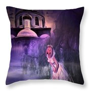 Runaway Bride Throw Pillow by Svetlana Sewell
