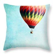 Sailing Throw Pillow by Stephanie Frey
