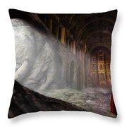 Sanctum Throw Pillow by John Edwards