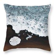 Sand Dollar Throw Pillow by Darice Machel McGuire