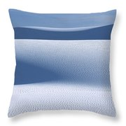 Sand Patterns Throw Pillow by Sandra Bronstein