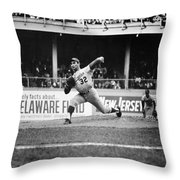 Sandy Koufax (1935- ) Throw Pillow by Granger