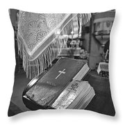 Say A Little Prayer Throw Pillow by Evelina Kremsdorf
